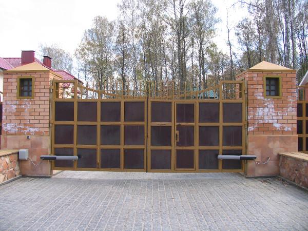 Въездные ворота в орле комплект автоматики для распашные ворота купить в москве