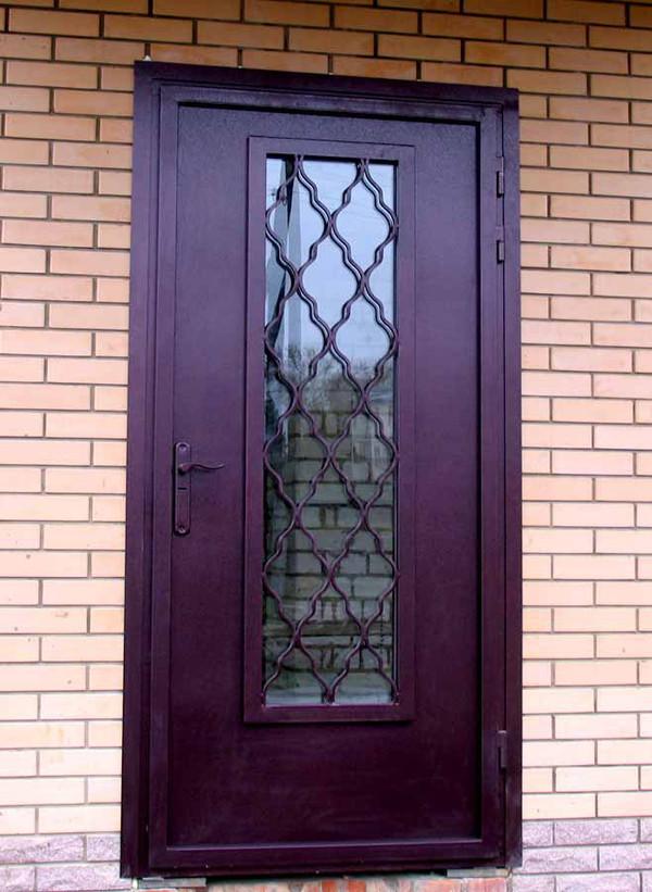 двери стальные сварные на заказ