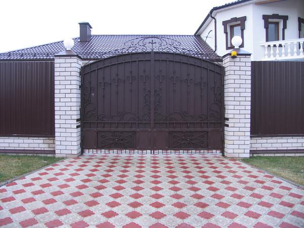 Производство металлических ворот орел привод откатных ворот fac 754
